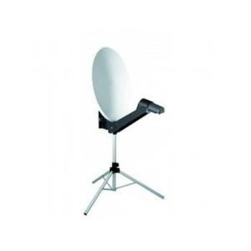 Spécial Truck MICROSAT Antenne Satellite Portable Offset  + Pointeur FindSat