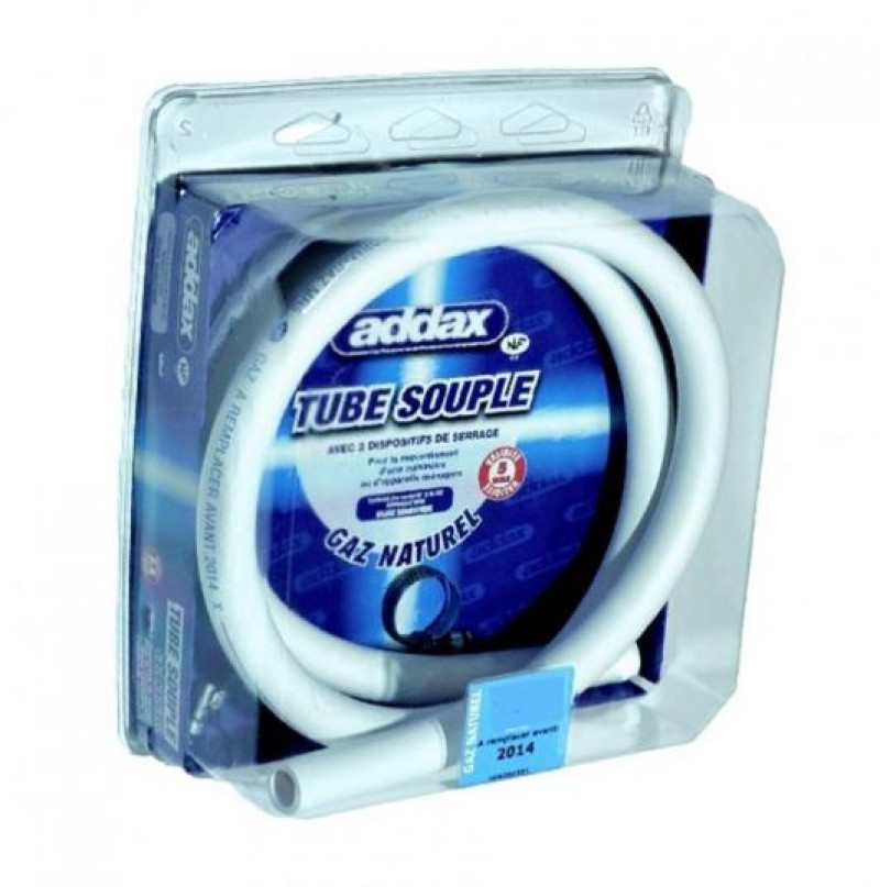 Tube gaz naturel 5 ans 1,50M NF 36102 ADDAX  V150