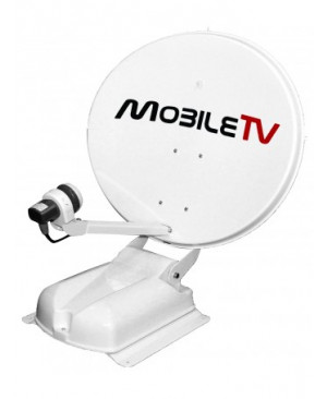 Antennes Satellite Automatique TWIN Avec Positionneur Bi Sat - MOBILE TV CAPTURE OFFSET 65 ELLIPTIQUE TWIN