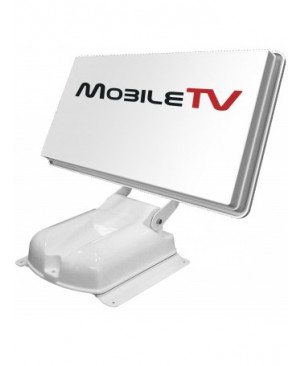 Antenne Satellite Automatique Plate 65 HD - MOBILETV Capture XPlate + Récepteur satellite FRANSAT Mini HD