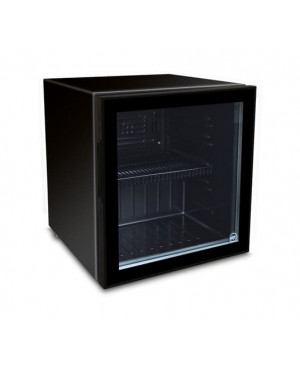 Meuble de comptoir froid positif IARP COUNTER 50 GLASS BLACK