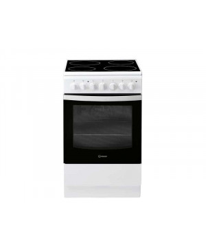 CUISINIERE VITRO 50CM BLANCHE INDESIT IS5V5PCW/FRem
