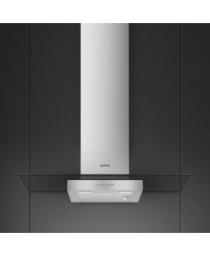 Hotte Décorative Murale 90 cm Inox SMEG KBT900VE