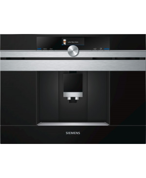 Machine à café Expresso automatique Home Connect inox SIEMENS CT636LES6