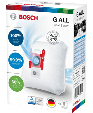 Sacs Aspirateurs PowerProtect BOSCH BBZ41FGALL
