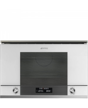 Micro-Ondes Encastrable Blanc SMEG MP122B1