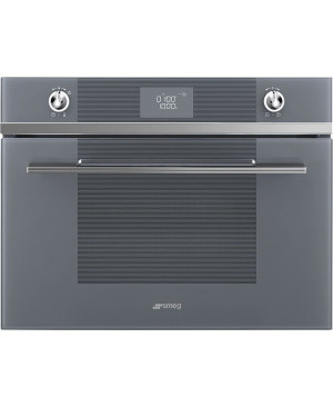 Four Compact 45 cm Micro-ondes Gril Inox SMEG SF4102MS