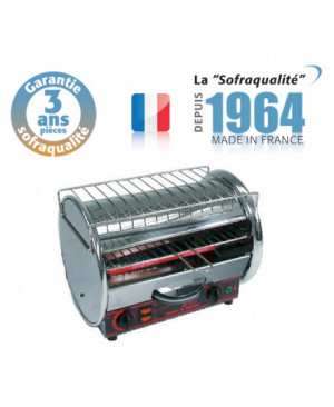Toaster multifonctions CLASSIC 1800W SOFRACA 11012